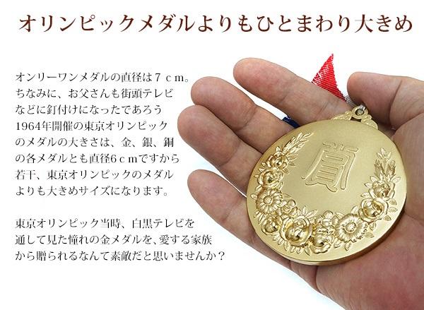 古希祝いにメダルセット